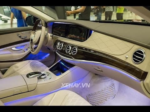 XEHAY.VN Chi tit Mercedes Benz S500L 2016 ti Trin l m Mercedes Benz Fascination 2016