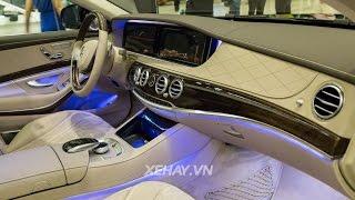 [XEHAY.VN] Chi tiết Mercedes-Benz S500L 2016 tại Triển lãm Mercedes-Benz Fascination 2016
