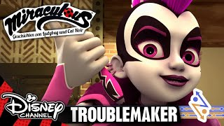 MIRACULOUS - Clip: Troublemaker | Disney Channel 🐞🐱