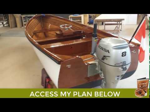 How to Build a Small Wooden Boat - Small Boat Plans