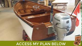 How to Build a Small Wooden Boat - Small Boat Plans Mp3