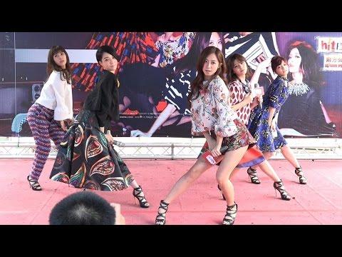 Popu Lady 1 POPU OK繃 POPU OK BOOM(4K 2160p)@Popu Lady Gossip Girls 台南簽唱會[無限HD] 🏆