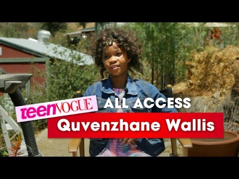 'Annie' Star Quvenzhané Wallis Describes What It's Like to Film a Musical—Teen Vogue