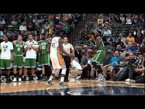 Jae Crowder Nails the Full Court Shot.. From Out of Bounds