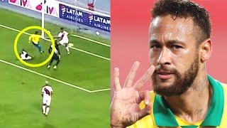 Неймар сделал ХЕТ ТРИК за сборную Бразилии Перу Бразилия 2 4