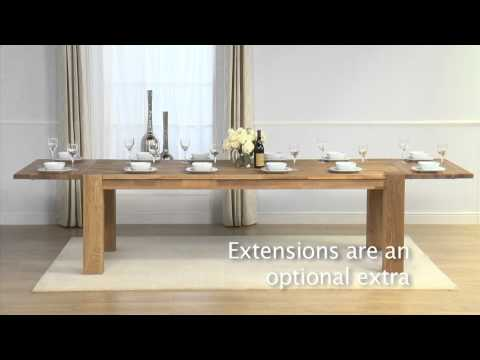 Furniture: Madrid Dining Table & Barcelona Chairs