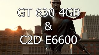 Hitman Blood Money - Max Settings on Geforce GT 630 4GB & E6600