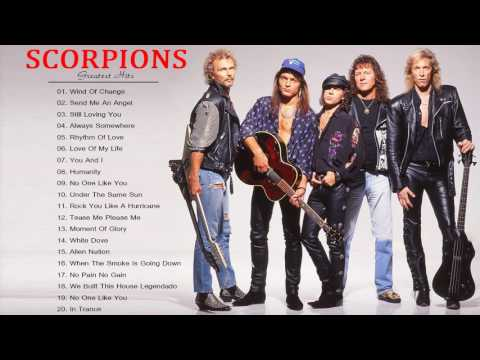 Scorpions Greatest Hits - The Best Song Of Scorpions