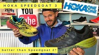 Hoka SPEEDGOAT 3 REVIEW 2019 - Better than SpeedGoat 2?!