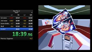 Star Fox 2 - Hard Mode Speedrun - [19:37]