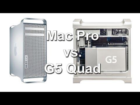 PowerPC sunset (part 1) - Mac Pro vs. Power Mac G5 Quad