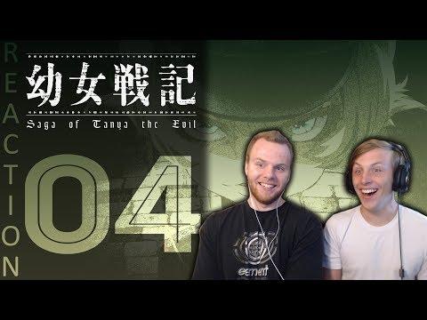 SOS Bros React - Saga of Tanya the Evil Episode 4 - Academy Strategy!!