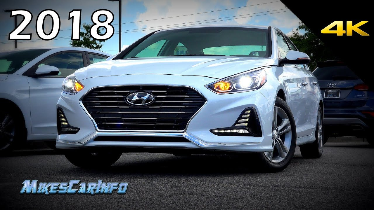 2018 Hyundai Sonata Limited Ultimate In Depth Look In 4k