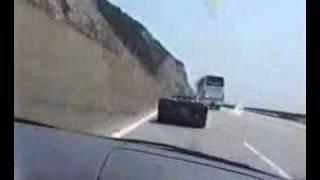 illegal street race bmw m3 turbo vs lamborghini diablo