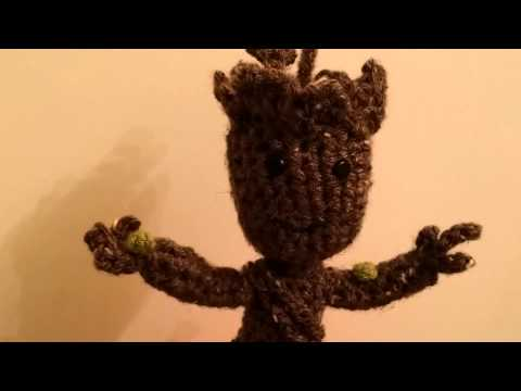 Baby Groot de Crochê - YouTube | 360x480