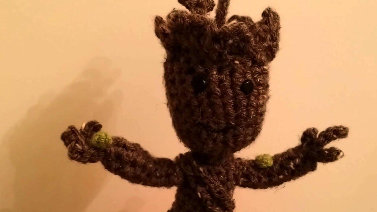 Crocheted Baby Groot Youtube
