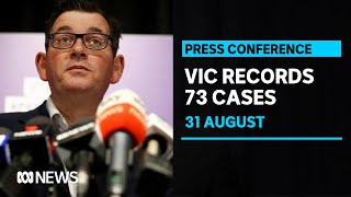 Victoria records 73 new coronavirus cases as death toll rises by 41 | ABC News