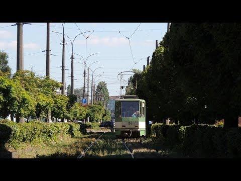 Житомирский трамвай и одна из последних линейных в мире Tatra T4SU