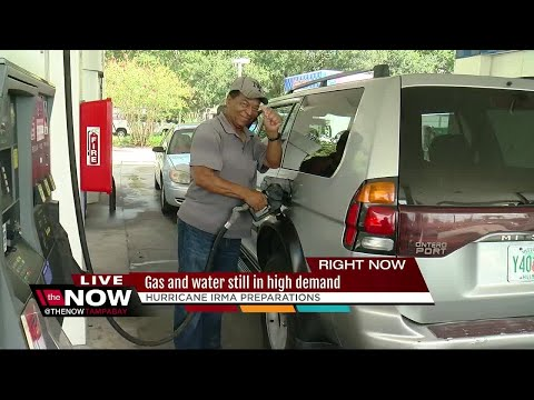 Gas and water still in high demand