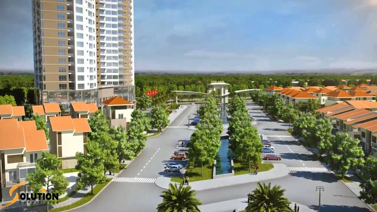 Solution tvc khu đô thị mới aura city – aura city 3D – aura city TVC