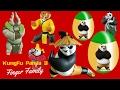 Kung Fu Panda 3 Finger Family Song   Kung Fu Panda 3 Surprise Egg and Toys   Kids Rhyme Box