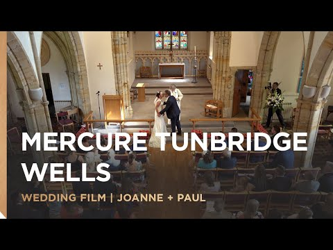 Mercure Tunbridge Wells Hotel | Joanne & Paul's Wedding Film | Kent Wedding Videographer