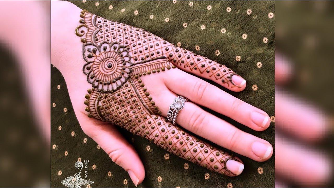 Unique And Simple Mehndi Design For Hands Latest Mehndi Design