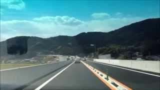 【HD】唐津IC→唐津千々賀山田IC 西九州自動車道 2012年3月開通区間