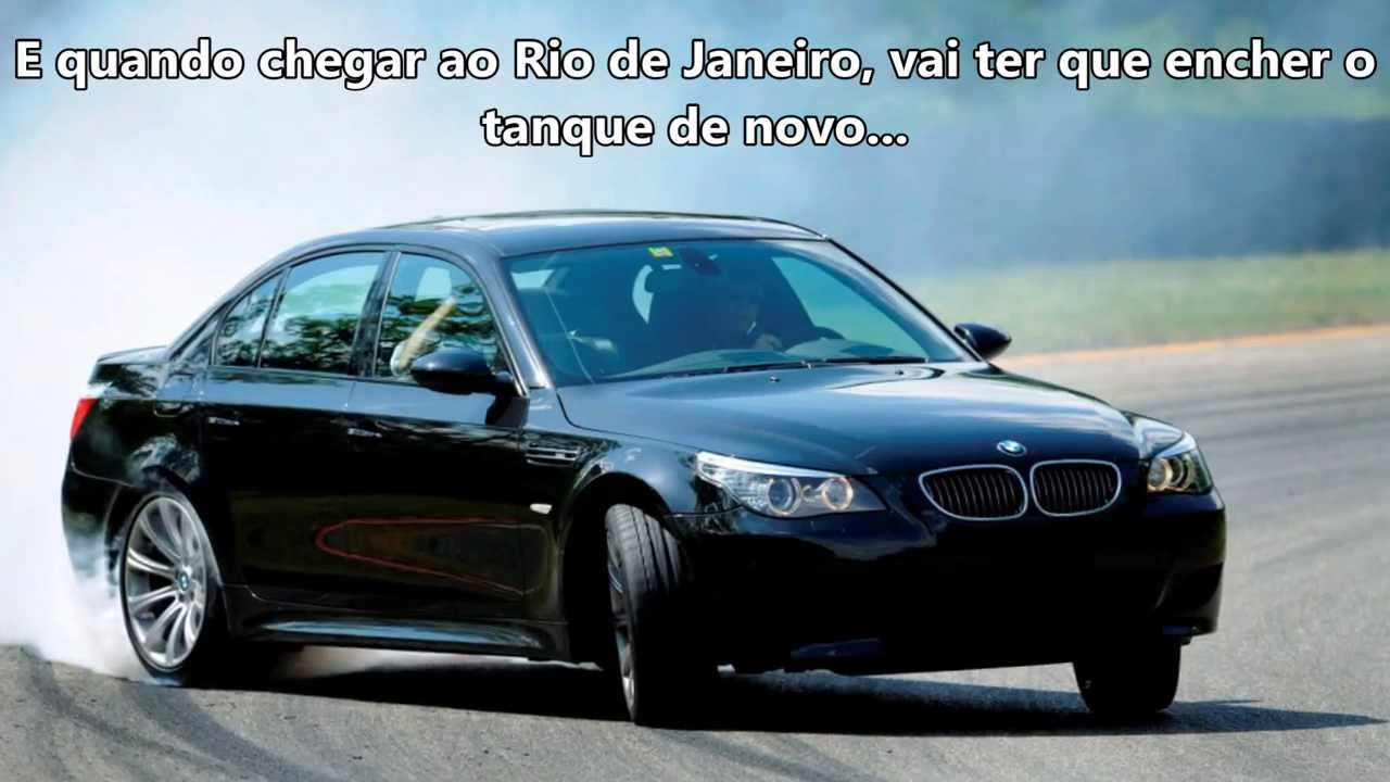Bmw M5 V10 The King Of Road In Brazil Youtube