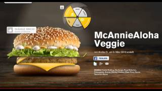 "Mc Donalds ""mein Burger"" 2013: Der Veggie-burger Mit ""aloha Feeling"" :)"