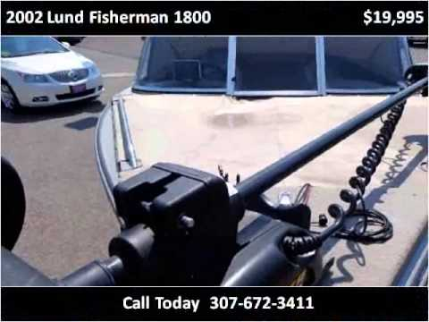 2002 lund fisherman 1800 used cars sheridan wy youtube for Sheridan motor buick gmc