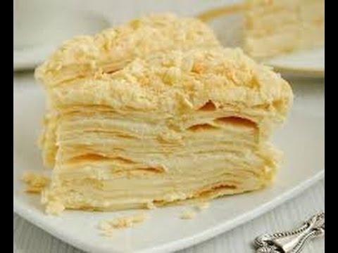 торт наполеон пошаговый рецепт с фото видео