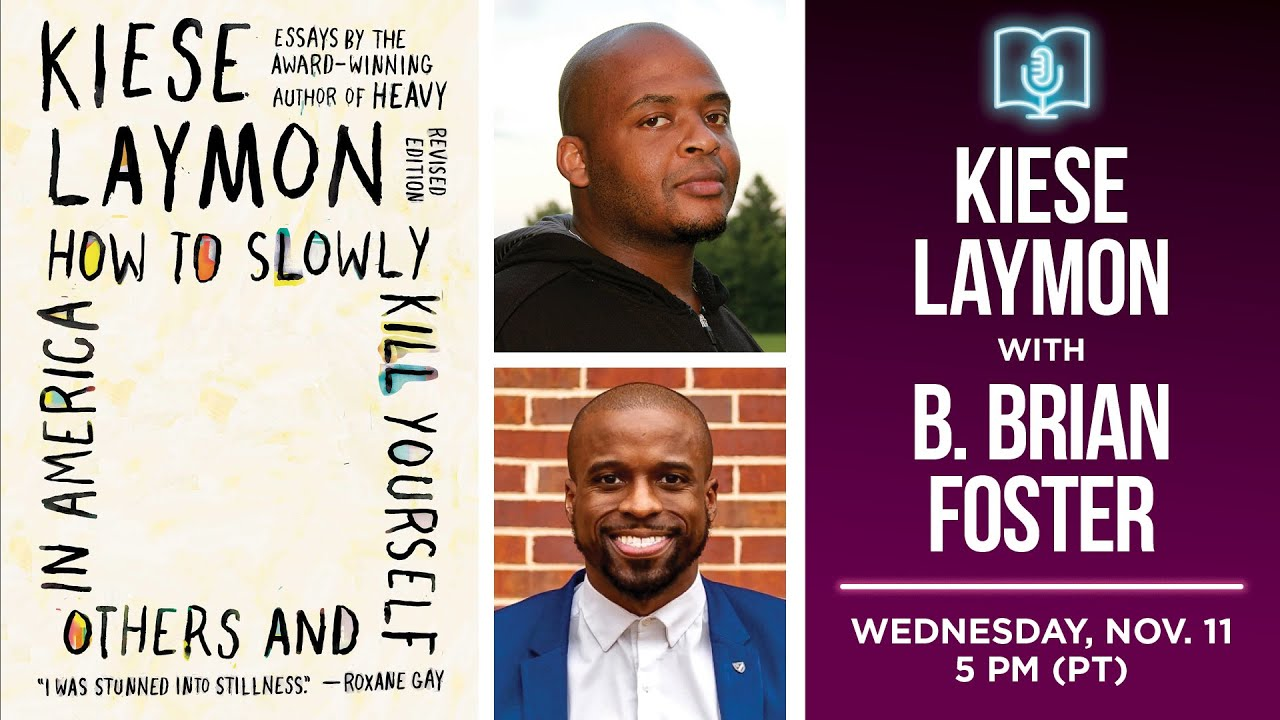 Conversation with Kiese Laymon (Powell's Books, 2020)