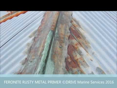 How To: Restoring Rusty Gal Roof