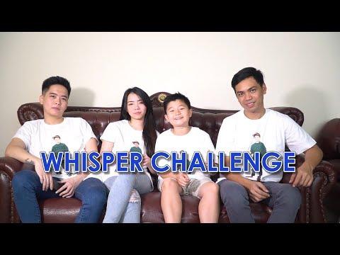 WHISPER CHALLENGE KEVIN & KAK MARLON & FAMILY