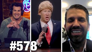 #578 DON JR. EXPOSES WHISTLEBLOWER!? | Donald Trump Jr. Guests | Louder with Crowder