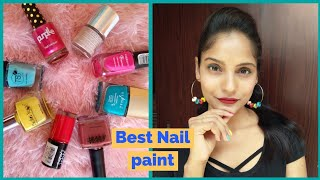BEST  NAIL POLISH || SUMMER COLLECTION