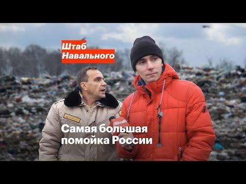 Самая большая помойка России
