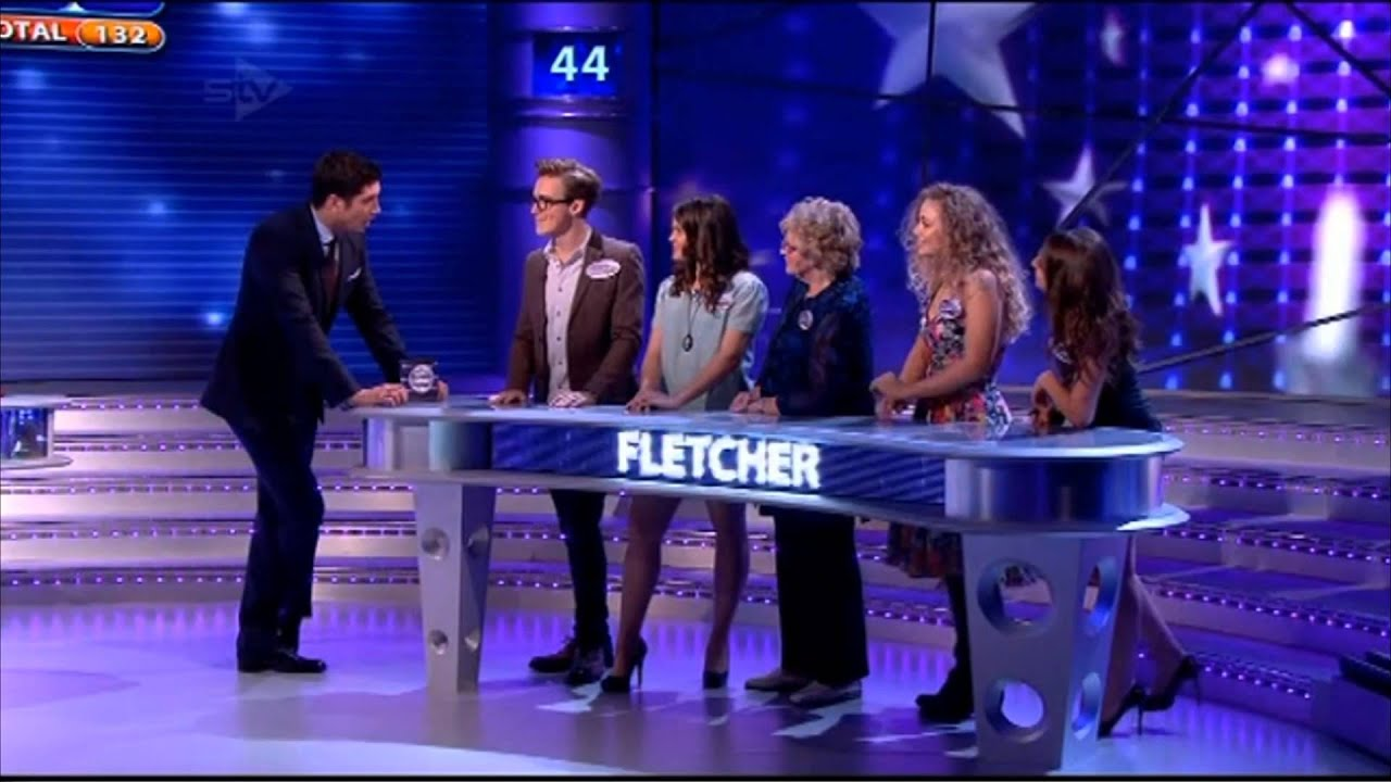 McFly - Tom Fletcher, Gi, Carrie & Giorgina Falcone On All Star Family  Fortunes 03/02/13 - Part 2/3