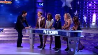McFly - Tom Fletcher, Gi, Carrie & Giorgina Falcone On All Star Family Fortunes 03/02/13 - Part 2/3