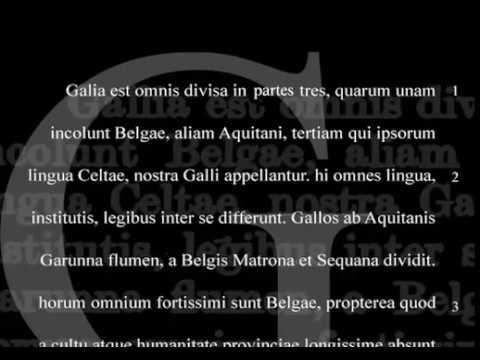 Cezar Gajusz Juliusz Wojna Galijska Materiały Dodatkowe