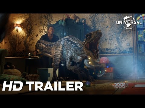 Jurassic World: Reino Ameaçado - Trailer Internacional 3 (Universal Pictures) HD thumbnail