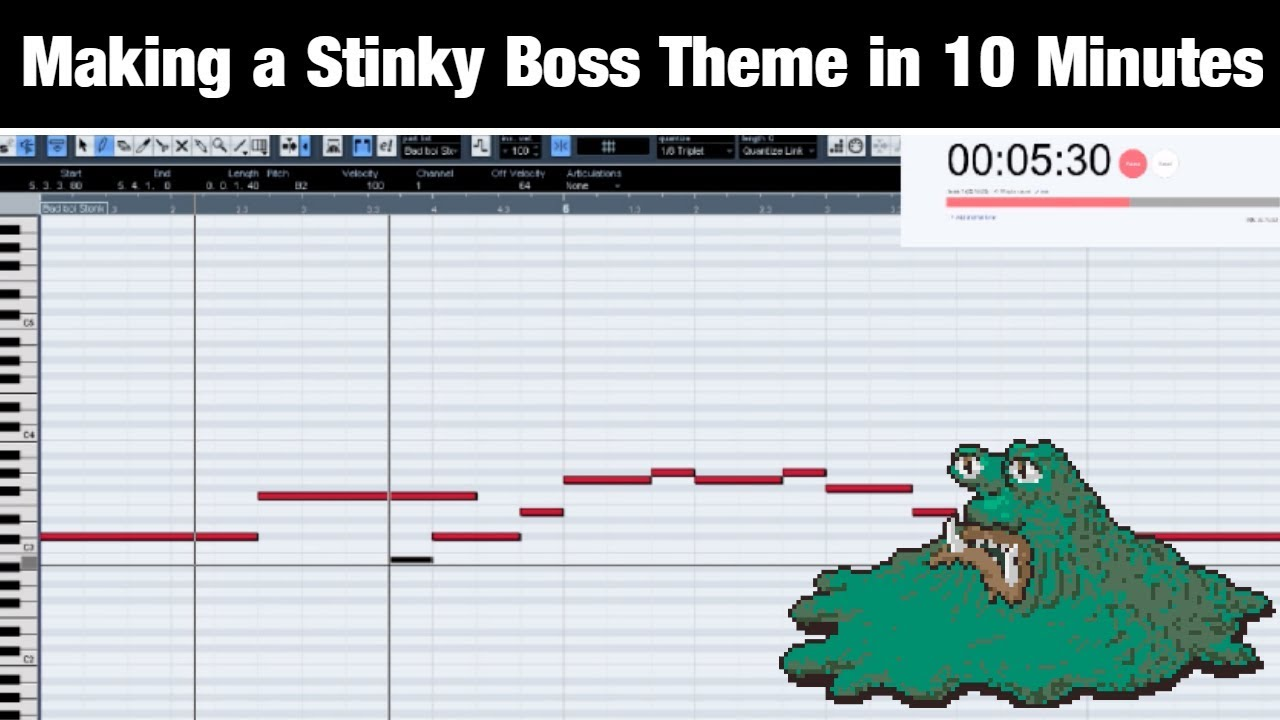 Attempting To Make A Stinky Video Game Boss Theme In 10 Minutes Shady Cicada Youtube This is an amazing theme. youtube