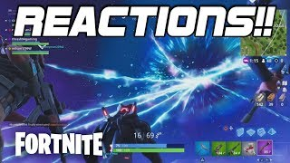 ROCKET LAUNCH REACTIONS! - Fortnite Battle Royale Gameplay (LONELY LODGE VIEW)