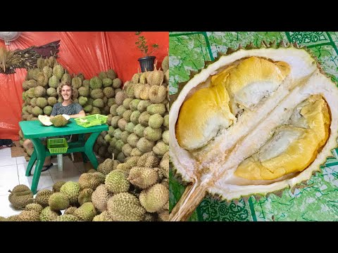MAN CRIES AFTER EATING FIRST DURIAN IN MANILA, PHILIPPINES