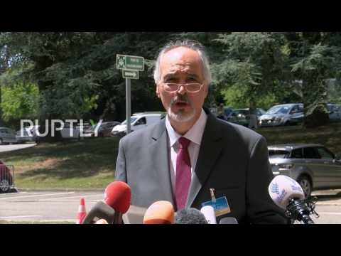 Switzerland: Damascus welcomes any western capital's 'awakening' on 'combatting terrorism' - Jaafari