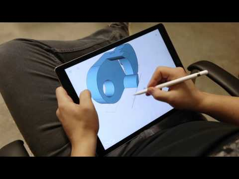 Taking 3D Design To The Next Level With Shapr3D And An Apple Pencil