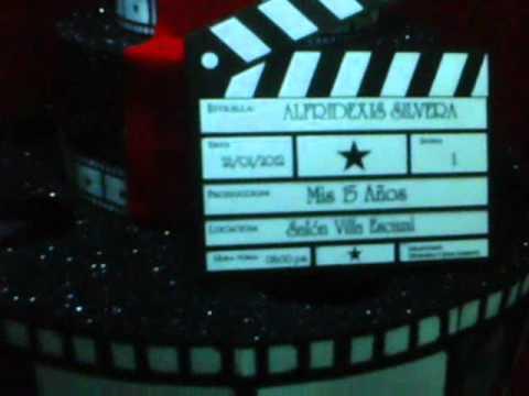 CENTRO DE MESA HOLLYWOOD - YouTube