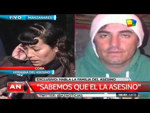 Habla la familia del presunto femicida de Manzanares