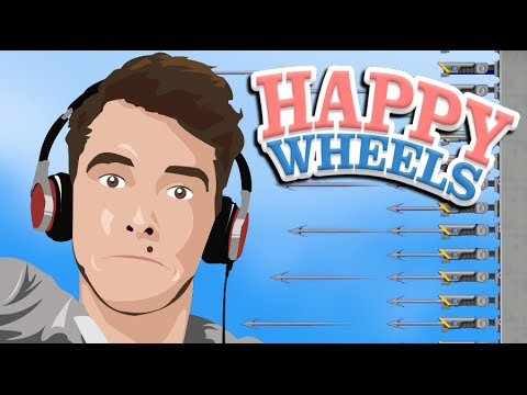 HARPOONS OF DOOM! | Happy Wheels